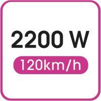Ισχύς: 2200 W