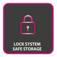Σύστημα κλειδώματος των πλακών για εύκολη και ασφαλή αποθήκευση