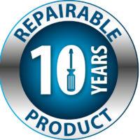 Επισκευάσιμο προϊόν - 10 χρόνια